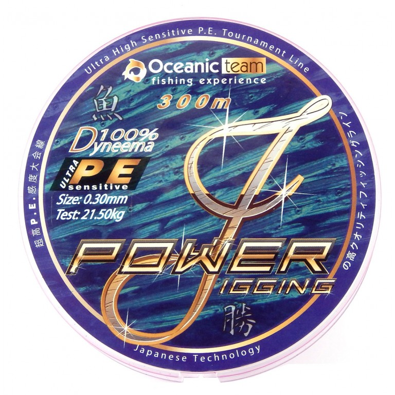 POWER JIGGING ΤΕΤΡΑΚΛΩΝΟ 300Μ